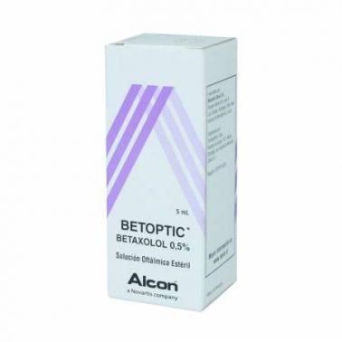 قطرة عين بتوبتك Betoptic لعلاج ارتفاع ضغط العين