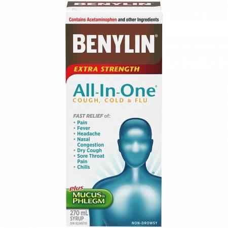 Photo of شراب بينيلين Benylin لعلاج القيء والغثيان