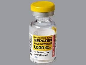 Photo of هيبارين Heparin حقن مضادة للتخثر