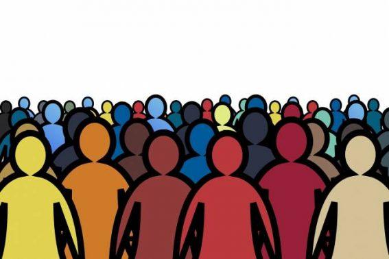 تعبير عن الزيادة السكانية بالعناصر الرئيسية