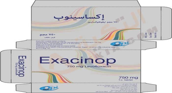 Photo of إكساسينوب Exacinop علاج البكتريا والجرثومة الضارة