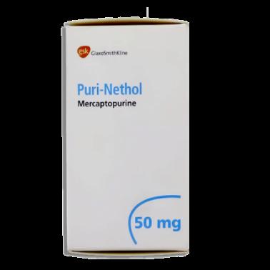 أقراص بورى نيثول Purinethol لعلاج سرطان الدم الليمفاوى الحاد