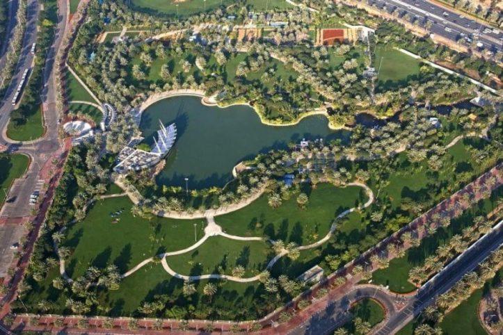 معلومات عن حديقة الصفا دبي