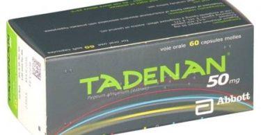 كبسولات تادينان Tadenan لعلاج المسالك البولية