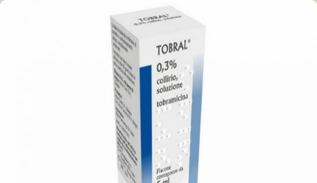 قطرة عين توبرال Tobral مضاد حيوى
