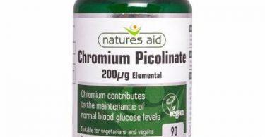 كبسولات بيكولينات الكروم Chromium picolinate لخسارة الوزن