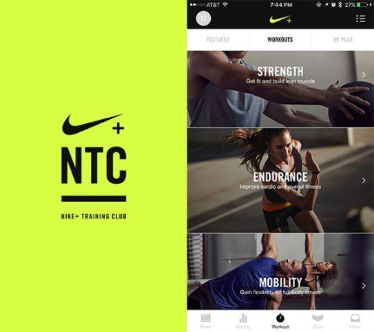 - تطبيقNike Training Club – Workouts & Fitness Plans