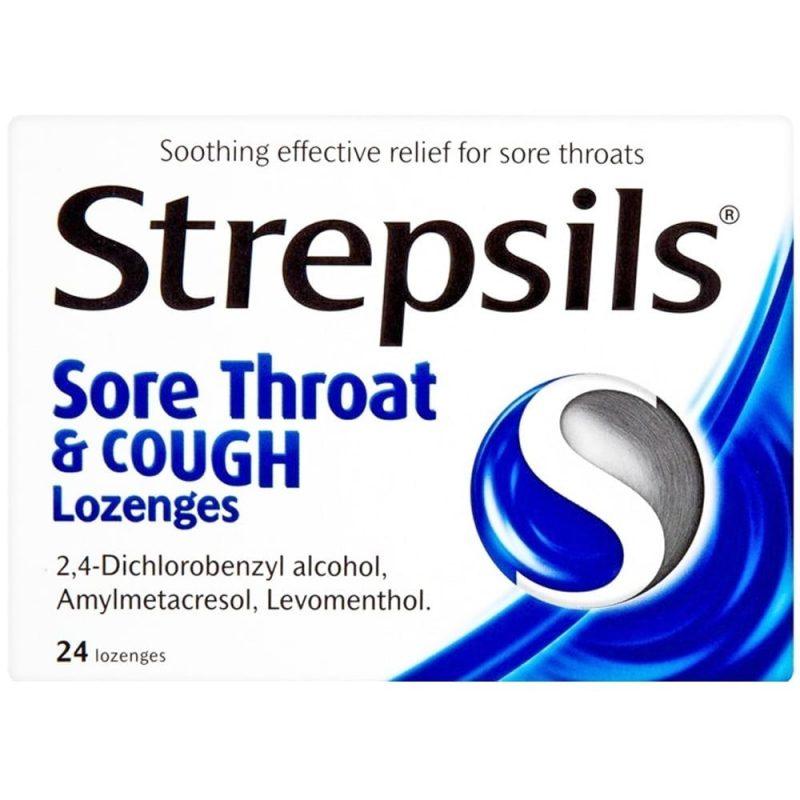 صورة اقراص ستربسلز لعلاج التهاب الحلق Strepsils