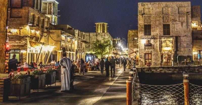 معلومات عن منطقة بر دبي