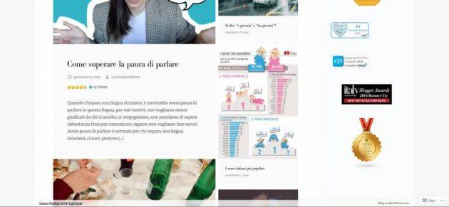 افضل 5 مدونات تعليم اللغة الإيطالية
