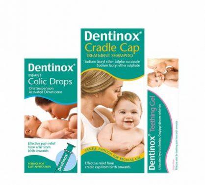 نقط دينتينوكس لعلاج الانتفاخ والمغص المعوى Dentinox Drops