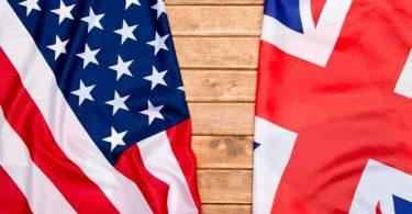 الاختلاف بين اللغه البريطانية والامريكية