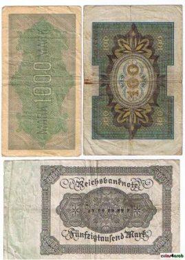 عملة ألمانيا من 1914 - 1922