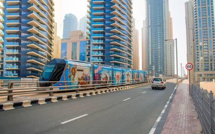 وسائل النقل العام في دبي