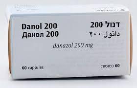 كبسولات دانول لعلاج بطانة الرحم المهاجرة Danol