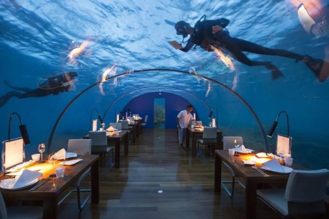أفضل المطاعم في جزر المالديف