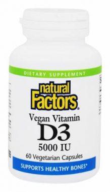 اقراص فيتامين د3 Natural Factors D3