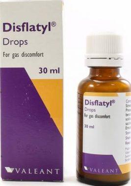 دواء ديسفلاتيل لعلاج الغازات والانتفاخات Disflatyl