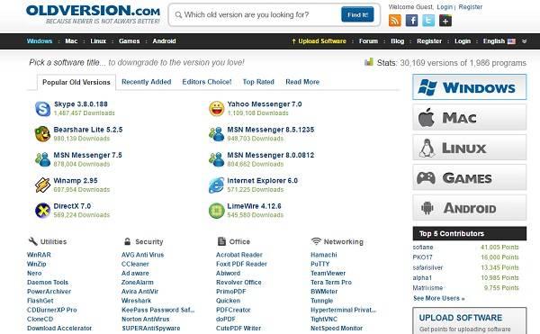 (OldVersion (Windows & Mac-