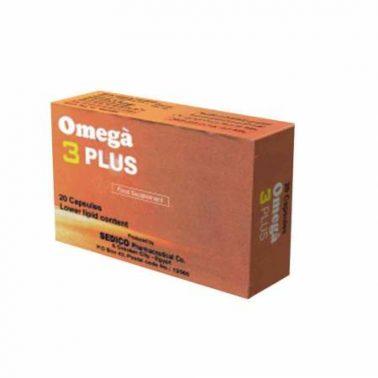 كبسولات أوميجا 3 بلس مكمل غذائي Omega 3 Plus