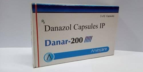 كبسولات دانازول لعلاج الثدي الكيسي الليفي Danazol