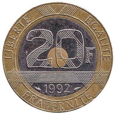 20 فرنك