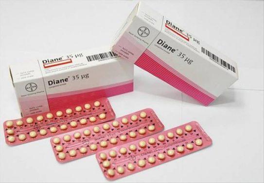 فوائد واضرار حبوب منع الحمل ديان Diane 35
