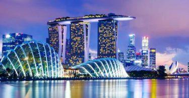تقرير عن مدينة سنغافورة