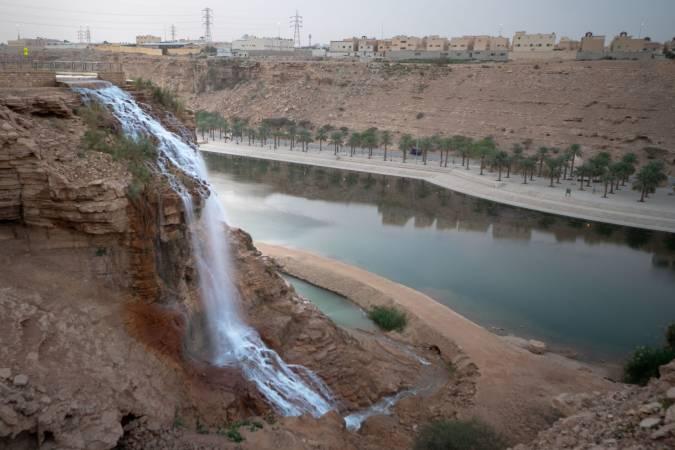 معلومات عن وادي نمار في الرياض