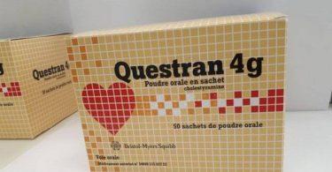 اكياس كويستران لعلاج زيادة كوليسترول في الدم Questran
