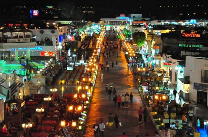 تقرير عن مدينة شرم الشيخ