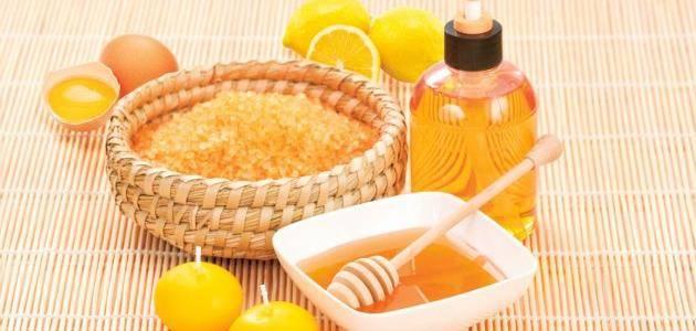 السكر والعسل والليمون