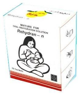 اكياس ريهيدران لعلاج الجفاف المصاحب للإسهال Rehydran-n