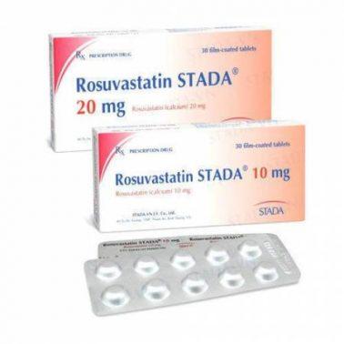 اقراص رسيوفاستاتين لعلاج ارتفاع نسبة الكوليسترول Rosuvastatin