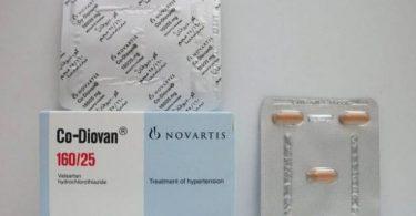 اقراص كو ديوفان لعلاج ارتفاع ضغط الدم Co-Diovan