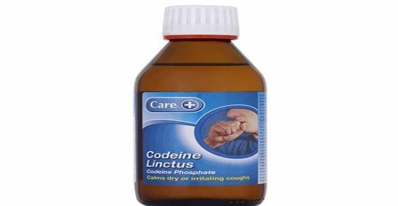 صورة شراب كودايين لعلاج آلام الظهر Codeine