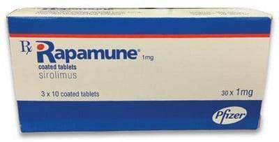 اقراص راباميون لتجنب رفض الجسم للعضو المزروع Rapamune
