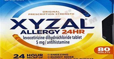 اقراص زيزال لعلاج الحساسية Xyzal