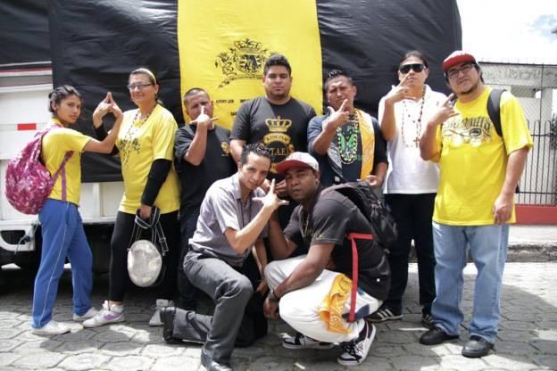 العصابات في الاكوادور