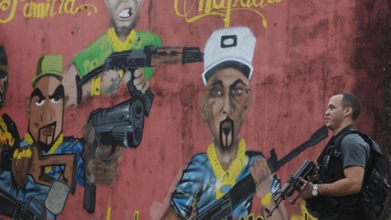 العصابات في البرازيل