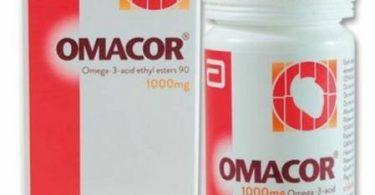 اوماكور Omacor دواء مكمل غذائي