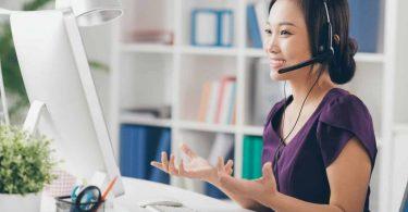 العمل في خدمة العملاء من المنزل