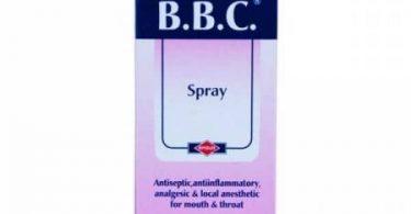 بخاخ بي بي سي BBC لعلاج التهاب الحلق والفم