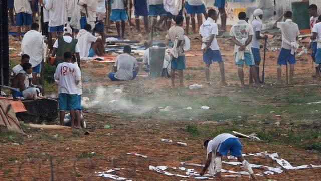 حرب العصابات في سجن التاميرا
