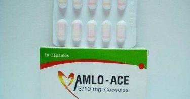 أملو إيس Amlo Ace لعلاج ارتفاع ضغط الدم