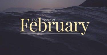 ما هو شهر فبراير