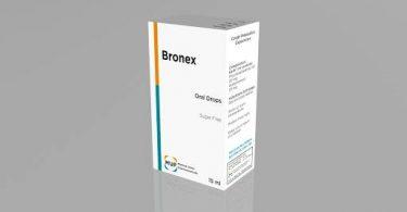 برونكس Bronex نقط بالفم لعلاج عدوي الجهاز التنفسي