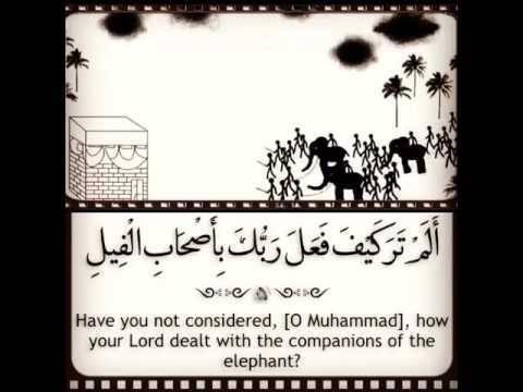 تأملات في سورة الفيل