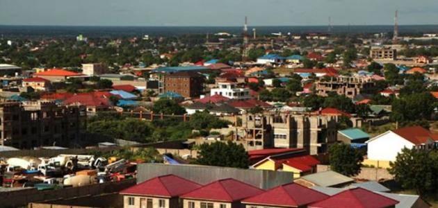 مدن جنوب السودان