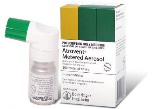 دواء أتروفنت Atrovent لعلاج أزمات الربو